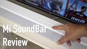 <b>Mi</b> Soundbar Review - Amazing <b>Sound</b> On a Budget