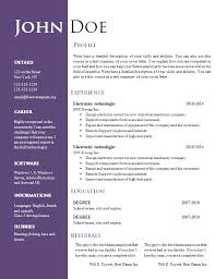 413 Free Downloadable Resume Templates In Microsoft Word. Student ... Template Resume Templates Microsoft Word Free. Socialsci.co