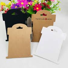 <b>100pcs Kraft Brown</b> Hang Tags DIY Handmade Tags Gift Packaging ...