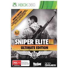 Sniper Elite 3 Ultimate Ed. RGH Xbox360 Español[2015, Mega,Openload+]