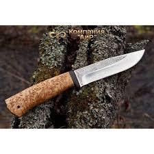 <b>Нож АиР Турист</b>, <b>сталь</b> M390, рукоять карельская береза - купить ...