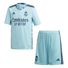<b>Real Madrid</b> Youth Home GK Kit 20-21 Ice <b>Blue</b> – <b>Real Madrid</b> CF ...