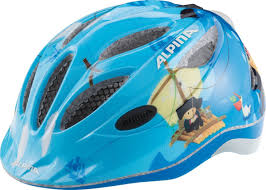 "<b>Шлем летний Alpina</b> ""Gamma 2.0 Flash pirate"", цвет: голубой ..."