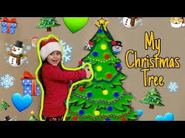 Easy <b>DIY Felt Christmas</b> Tree for Toddlers! - YouTube