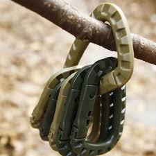 Hook Mountain Outdoor <b>Buckle</b> Snap <b>Carabiner Clasp Clip</b> ...