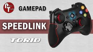 Обзор <b>SPEEDLINK TORID Gamepad</b> - YouTube