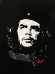 che guevara embroidery pattern