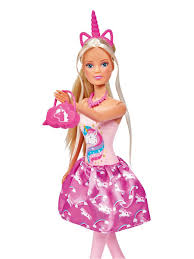 <b>Кукла Штеффи в розовом</b> платье с единорогом 29 см Steffi love ...