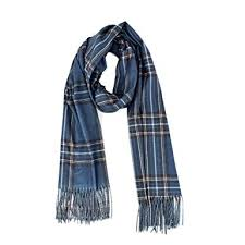 Blanket Cashmere Plaid Scarf for Women - <b>2019 Fashion Double</b> ...