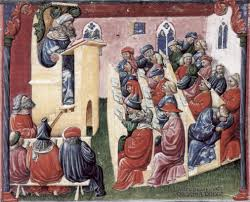 medieval university a university class bologna 1350s