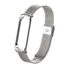 Shop <b>Metal Strap Wristband</b> For Mi <b>Band</b> 3 4 Replacement Business ...