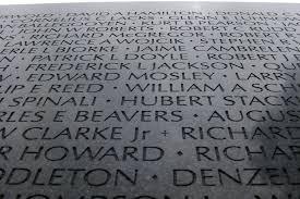 「1982, Vietnam Veterans Memorial」の画像検索結果