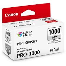 <b>Canon PFI</b>-<b>1000 PGY</b> LUCIA PRO <b>Photo</b> Gray Ink Tank (80ml)