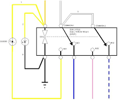 84 86 isolaiton relay pennock s fiero forum or make one yourself out of a dual pole dual throw dpdt relay and a pair of diodes here s a quick schematic of how to make one