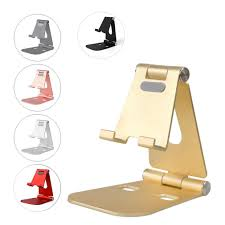 Aluminum Alloy Metal Adjustment Desktop <b>Mobile Phone</b> Bracket ...