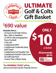 indy tire commercial division golf outing raising money for outing signs basket raffle