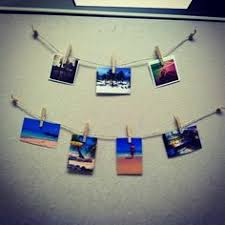 cubicle decor could paint the clothes pins and use fun metallic string black modern metal hanging office cubicle
