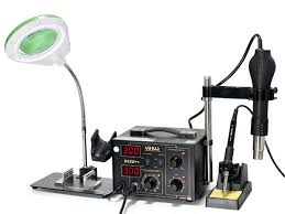 <b>YIHUA</b>-<b>852D</b>++ Hot Air Rework <b>Station</b> with Soldering Iron | <b>YiHua</b>