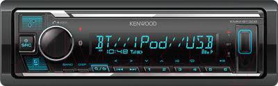 <b>Kenwood KMM</b>-<b>BT306</b> Бездисковая <b>автомагнитола</b> купить в ...