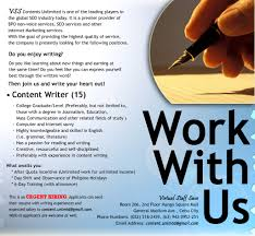 looking for content writers urgent hiring click here to view the original image of 833x769px