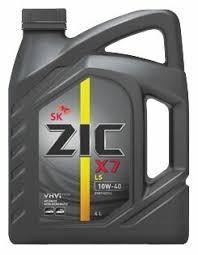 <b>Моторное масло ZIC</b> X7 LS 10W-40 4 л — купить по выгодной ...