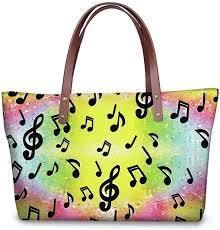 Handbag Women Guitar DJ <b>FORUDESIGNS</b> Bloomerang Rainbow ...