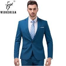 2 Pieces (Jackets+Suit Pants) 2018 <b>New Arrival Mens Suits</b> Male ...