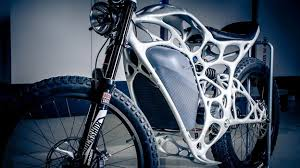 Autos - The electric motorcycle inspired by a skeleton - BBC