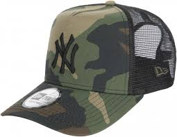 <b>Бейсболка New Era Clean</b> Trucker NY Yankees камуфляж цвет ...