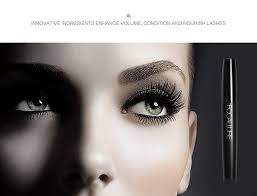 FOCALLURE Black <b>mascara</b> waterproof Rimel 4D Silk <b>Fiber eye</b> ...