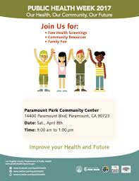 aqmd public call city of paramount county health fair paramount park