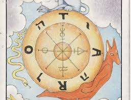 TAROT - The Royal Road: 10 THE WHEEL OF FORTUNE X