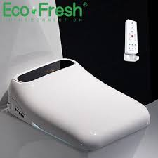 <b>Ecofresh</b> square smart toilet seat cover electronic bidet toilet bowls ...