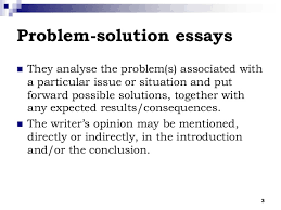 problem solution essay sample the problem solution essay  jpgcb