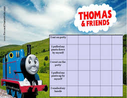 printable potty charts thomas potty chart
