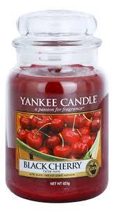 <b>Ароматическая свеча Black Cherry</b> Yankee Candle купить в ...