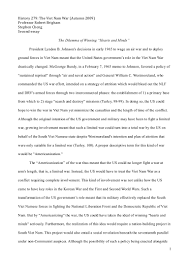 the vietnam war essay vietnam war essay