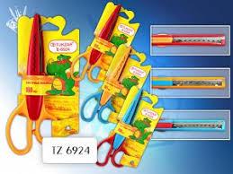 <b>ножницы</b> 130 мм tukzar детские с фигурными лезвиями tz6924 ...