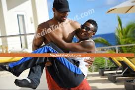 NFL     s Kerry Rhodes Isn     t Gay  He Just Carries Around Dudes While     Gawker NFL     s Kerry Rhodes Isn     t Gay  He Just Carries Around Dudes While Shirtless