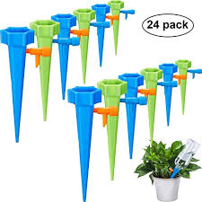Self <b>Watering</b> Spikes <b>Adjustable Plant Watering</b> Spikes <b>Automatic</b> ...