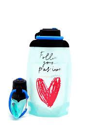 Купить <b>Бутылка для воды</b> и напитков складная <b>VITDAM</b> эко ...