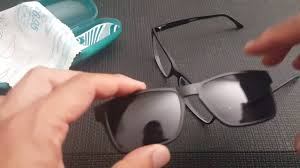 Zenni Optical magnetic Prescription <b>polarized glasses</b> Unboxing ...