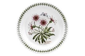 "<b>Тарелка закусочная</b> Portmeirion ""Ботанический сад.<b>Газания</b>"" <b>20см</b>"