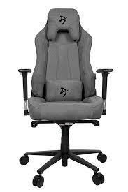 <b>Компьютерное кресло Arozzi Vernazza</b> Soft Fabric (Серый) купить ...