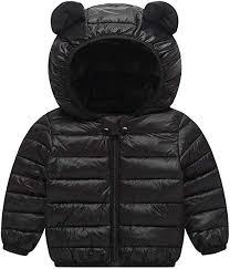 Baby Boys Girls Down Cotton Coat with Bear Ear ... - Amazon.com