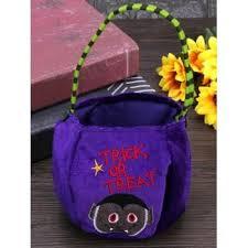 [34% OFF] 2020 <b>Halloween Pattern Velvet Gift</b> Bags Candy Bag In ...