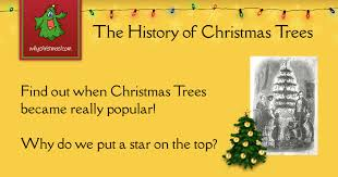 The History of <b>Christmas Trees</b> - Christmas Customs and Traditions ...