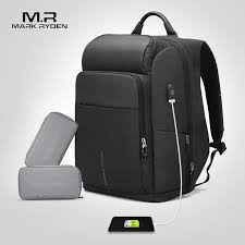 Mark Ryden <b>Men</b> Backpack <b>Multifunction USB Charging</b> 17 Inch ...