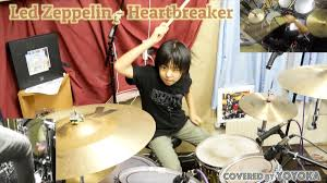 Watch 10-year-old drummer thunder her way through <b>Led Zeppelin's</b> ...