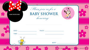 printable mickey mouse baby shower invitation baby shower printable minnie mouse baby shower invitation
